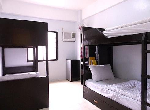 3D Academyの4人部屋(新ビル寮)