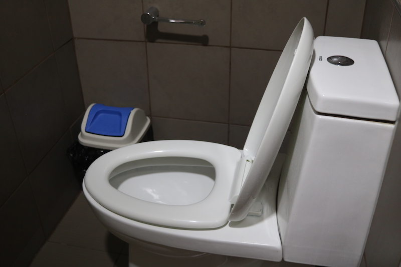 CPIのトイレ