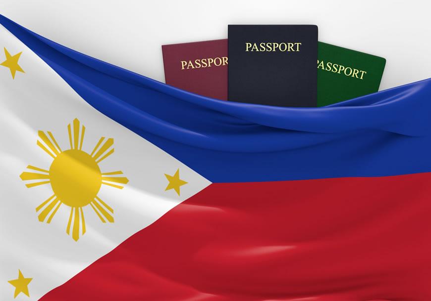フィリピンの国旗の写真
