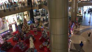 セブ島の風景_ショッピングセンター_クリスマス